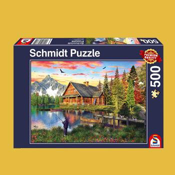 Puzzles 500 pieces